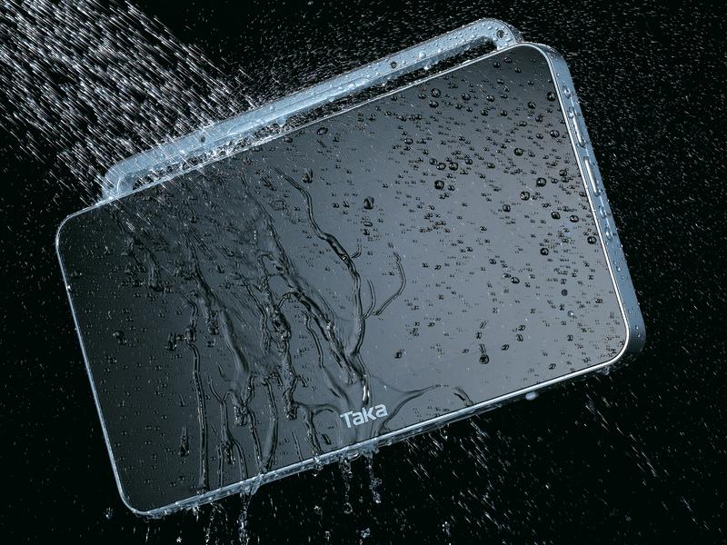 Wasserdichte Badezimmer TV, auch Kabellos von SplashVision